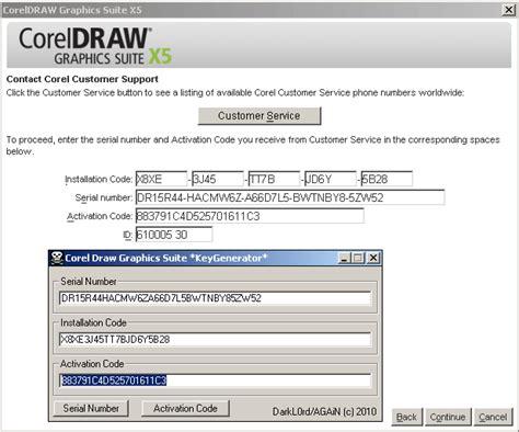 corel draw 14 activation code keygen